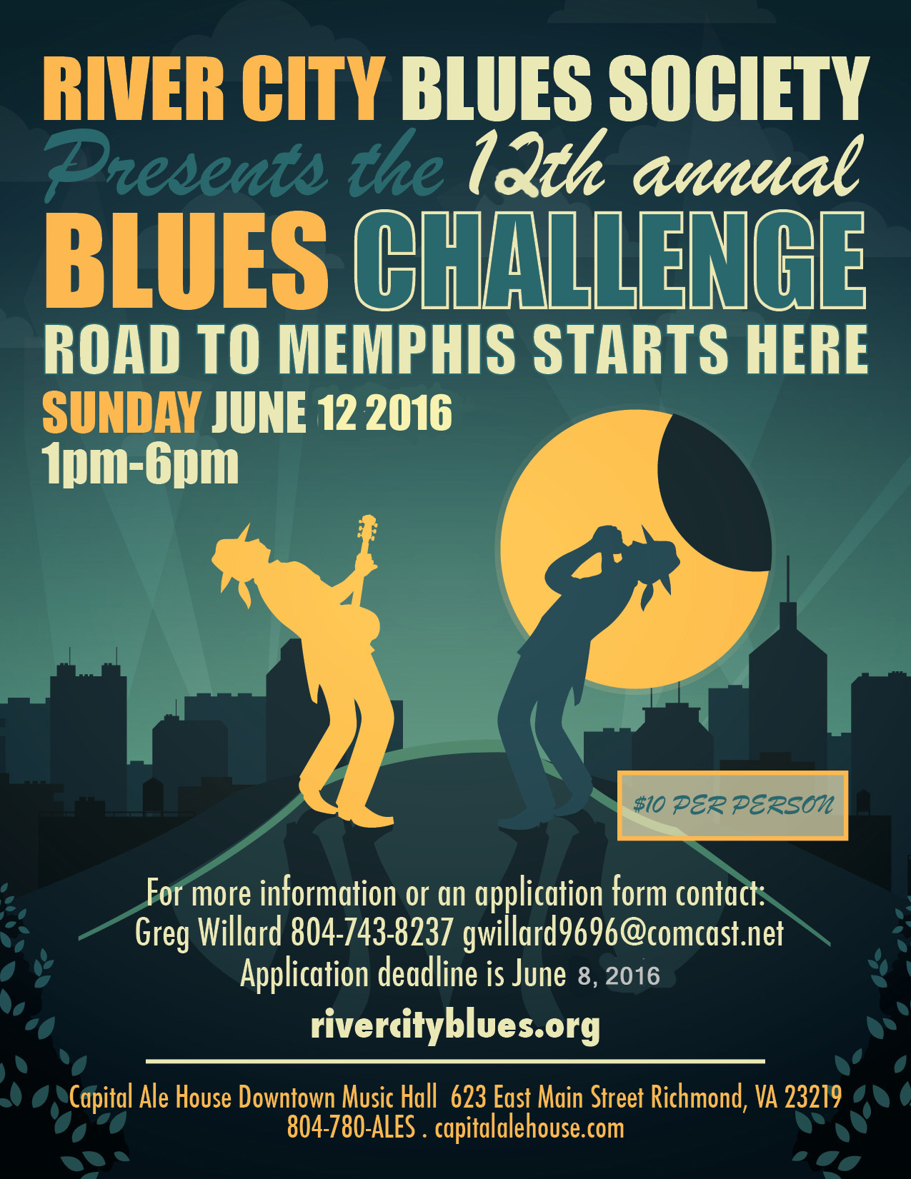 Blues Challenge Poster