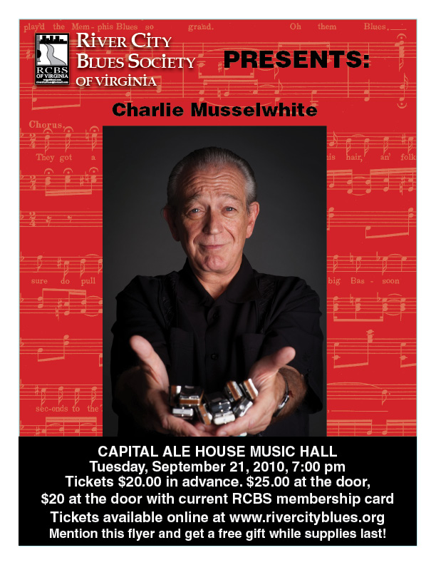 Charlie Musselwhite, 9/21/2010